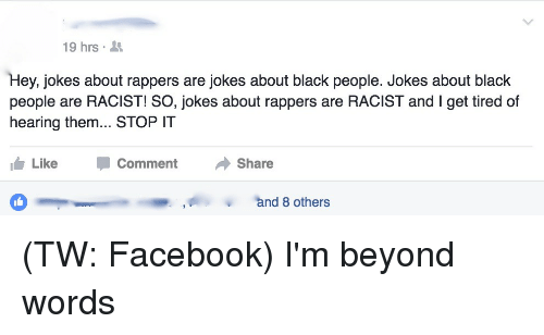 Yes Black people are racist too  The Race Card Project