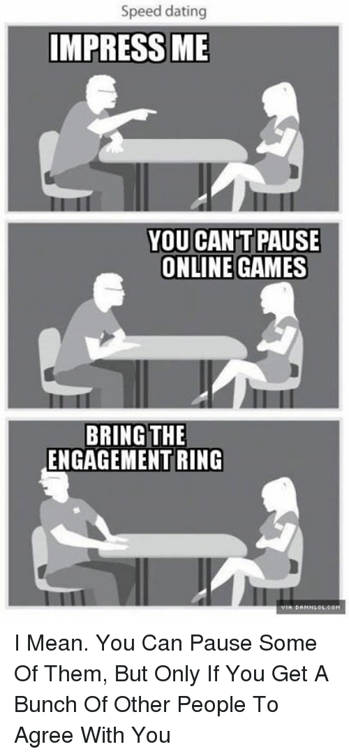 What is speed dating really like