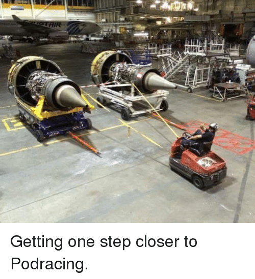 Podracing: <p>Getting one step closer to Podracing.</p>