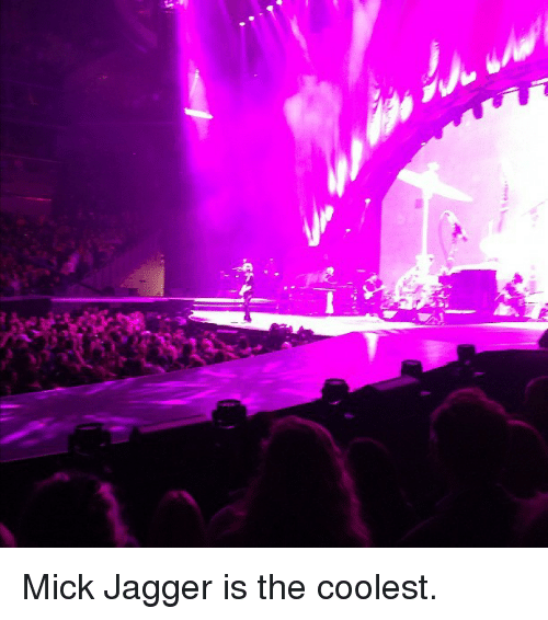 Mick Jagger: <p>Mick Jagger is the coolest.</p>