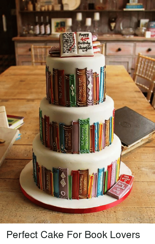 Book Lovers: <p>Perfect Cake For Book Lovers</p>