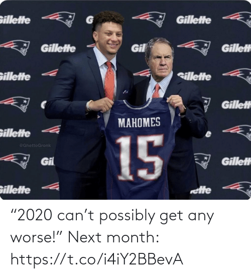 "Football: ""2020 can't possibly get any worse!""   Next month: https://t.co/i4iY2BBevA"