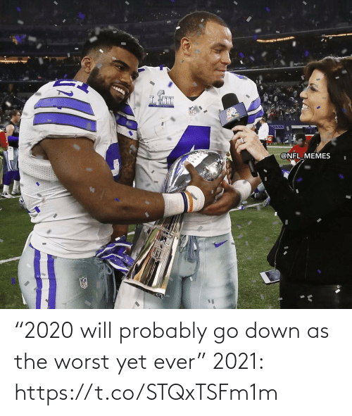 "The Worst: ""2020 will probably go down as the worst yet ever""  2021: https://t.co/STQxTSFm1m"