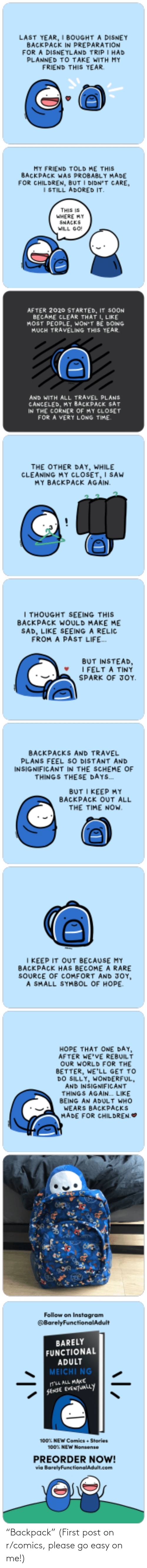"please: ""Backpack"" (First post on r/comics, please go easy on me!)"