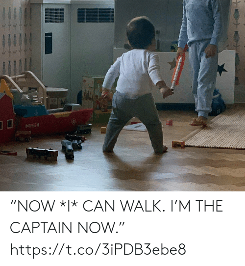"""Memes, 🤖, and Can: """"NOW *I* CAN WALK. I'M THE CAPTAIN NOW."""" https://t.co/3iPDB3ebe8"""