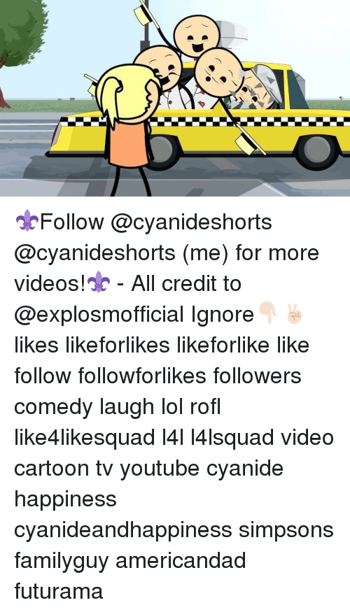 Cyanide Happy: ⚜Follow @cyanideshorts @cyanideshorts (me) for more videos!⚜ - All credit to @explosmofficial Ignore👇🏻✌🏻️ likes likeforlikes likeforlike like follow followforlikes followers comedy laugh lol rofl like4likesquad l4l l4lsquad video cartoon tv youtube cyanide happiness cyanideandhappiness simpsons familyguy americandad futurama
