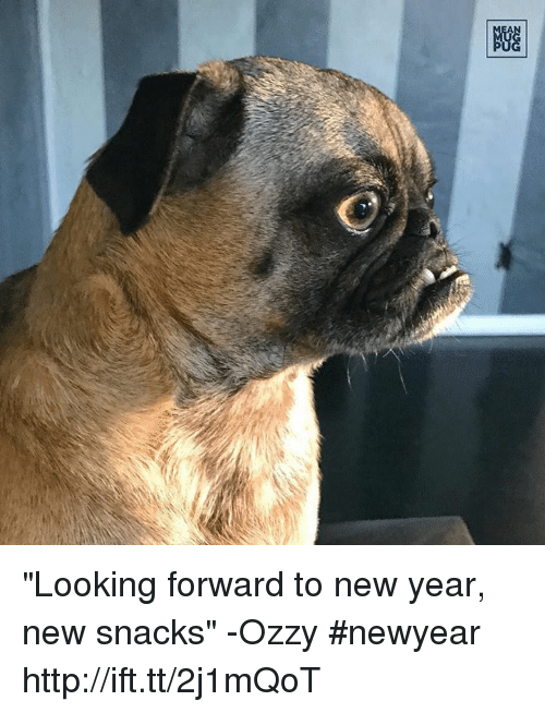 "Newyears: 剷 ""Looking forward to new year, new snacks"" -Ozzy #newyear http://ift.tt/2j1mQoT"