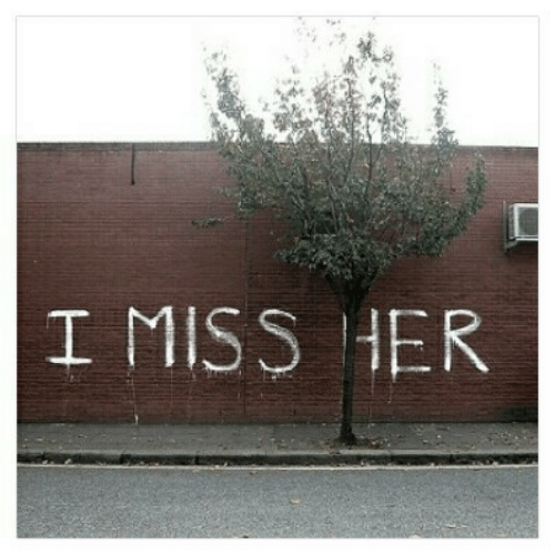 Her, Miss, and I-Miss-Her: 塗  I MISS HER