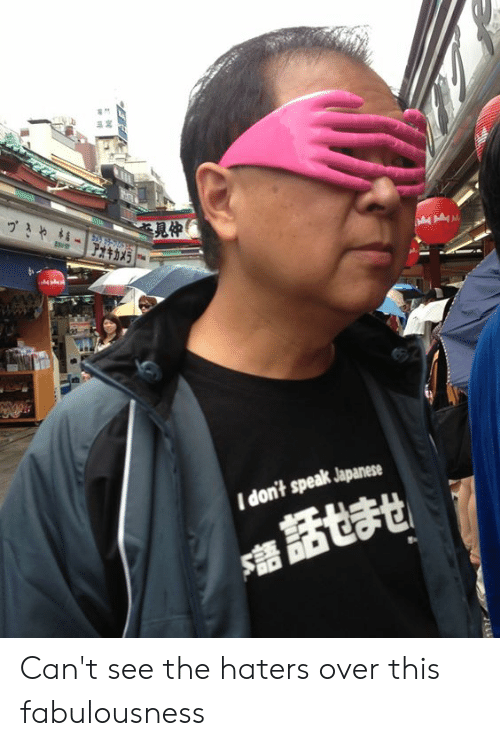 dont speak: 見仲  I don't speak Japanese Can't see the haters over this fabulousness