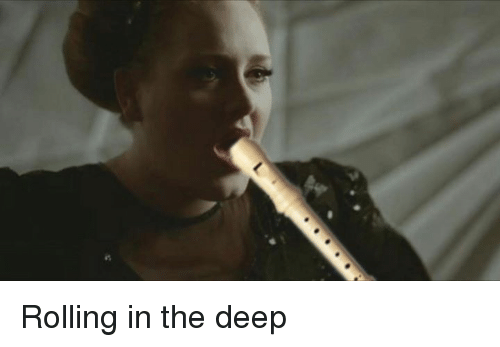 Memes, 🤖, and The Deep: 밟 Rolling in the deep