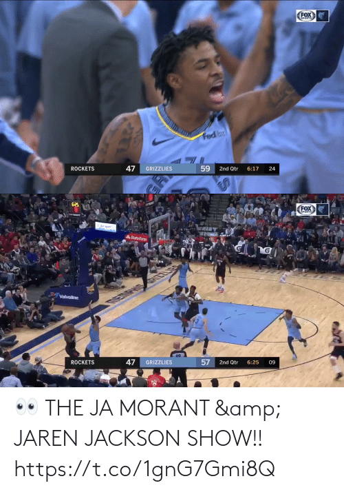 show: 👀 THE JA MORANT & JAREN JACKSON SHOW!!  https://t.co/1gnG7Gmi8Q