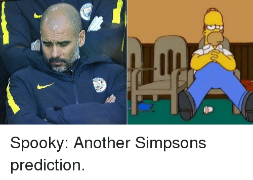 Spooki: 0p Spooky: Another Simpsons prediction.