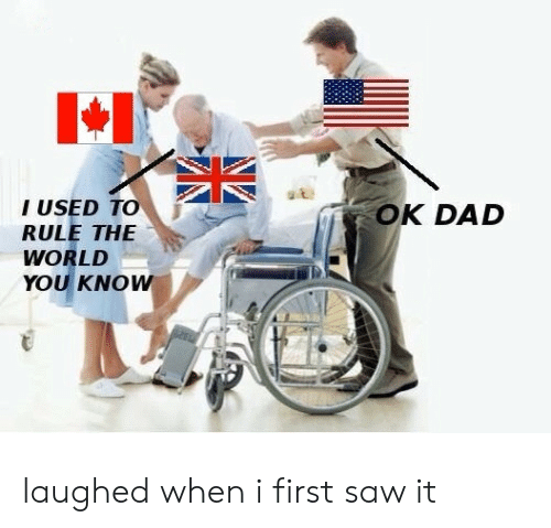 I Used To Rule The World: 1+1  I USED TO  RULE THE  WORLD  YOU KNOW  OK DAD laughed when i first saw it
