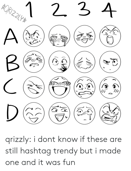 Target, Tumblr, and Blog: 1 2 3 4  RIZZ  Z2LY  A  D qrizzly:  i dont know if these are still hashtag trendy but i made one and it was fun