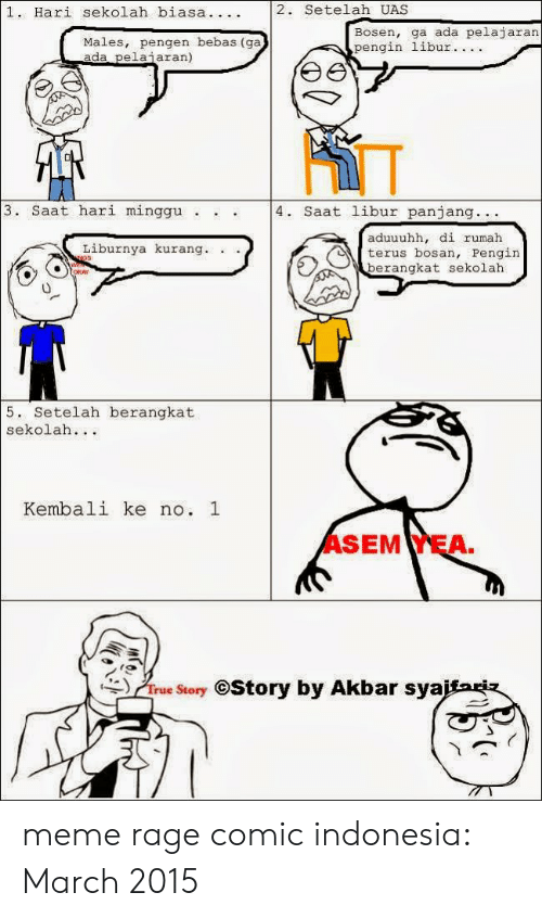 25 Best Memes About Meme Rage Comic Indonesia Meme Rage