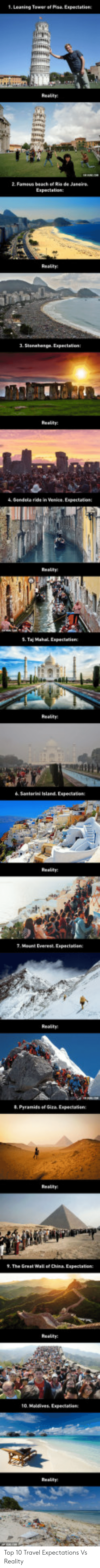 leaning tower: 1. Leaning Tower of Pisa Expectation Top 10 Travel Expectations Vs Reality
