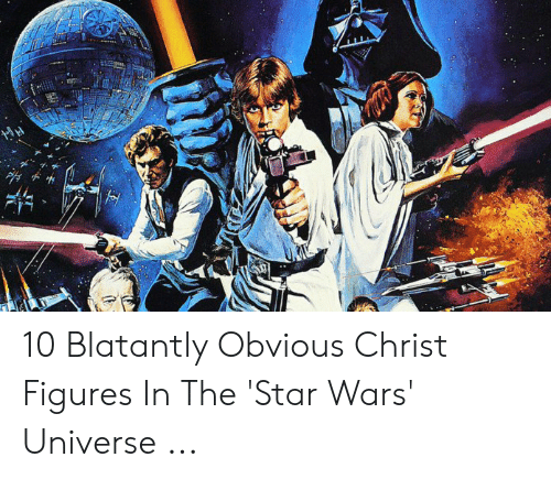 Jesus Cross Lightsaber: 10 Blatantly Obvious Christ Figures In The 'Star Wars' Universe ...
