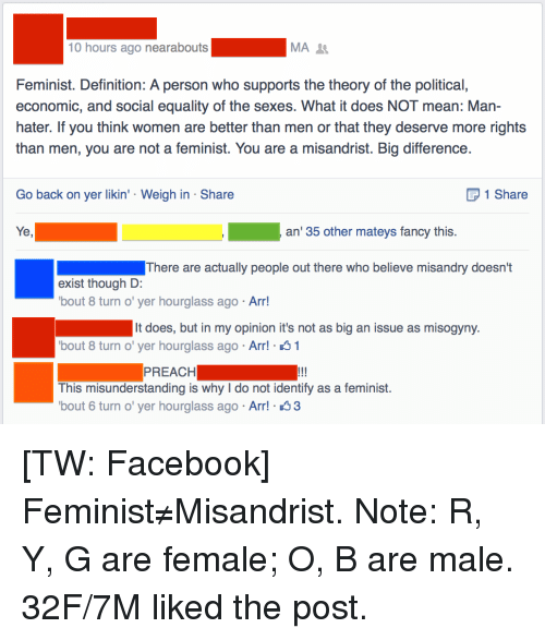 Facebook Preach And Tumblr 10 Hours Ago Nearabouts Ima Feminist Definition