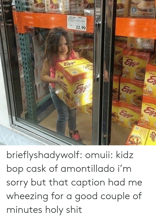 Shit, Sorry, and Target: 12.90 brieflyshadywolf:  omuii: kidz bop cask of amontillado i'm sorry but that caption had me wheezing for a good couple of minutes holy shit