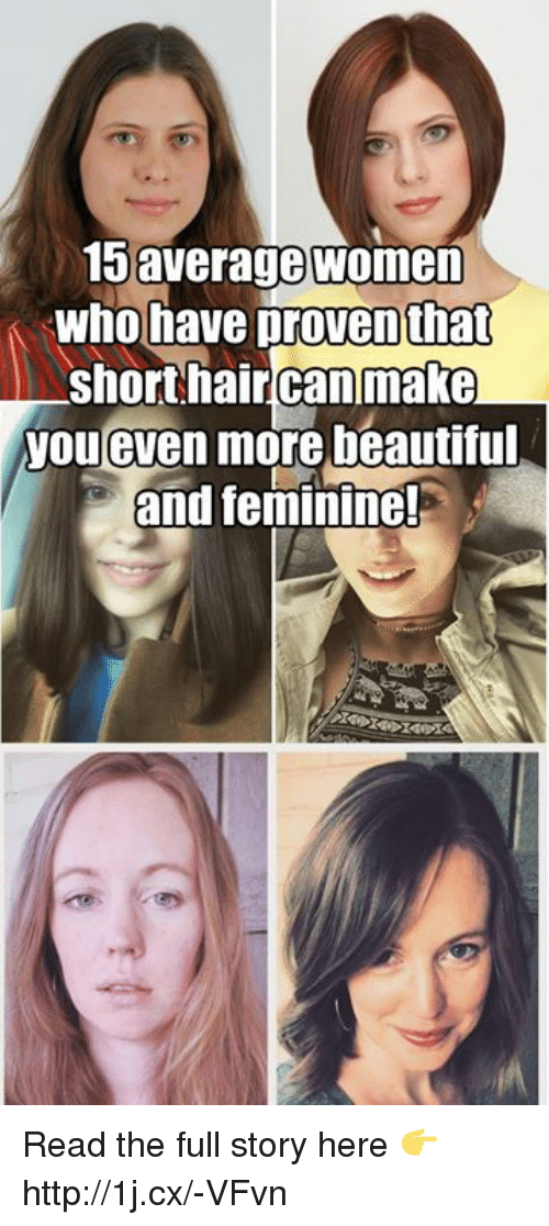15 Average Women Who Have That Short Hair Canmake You Even