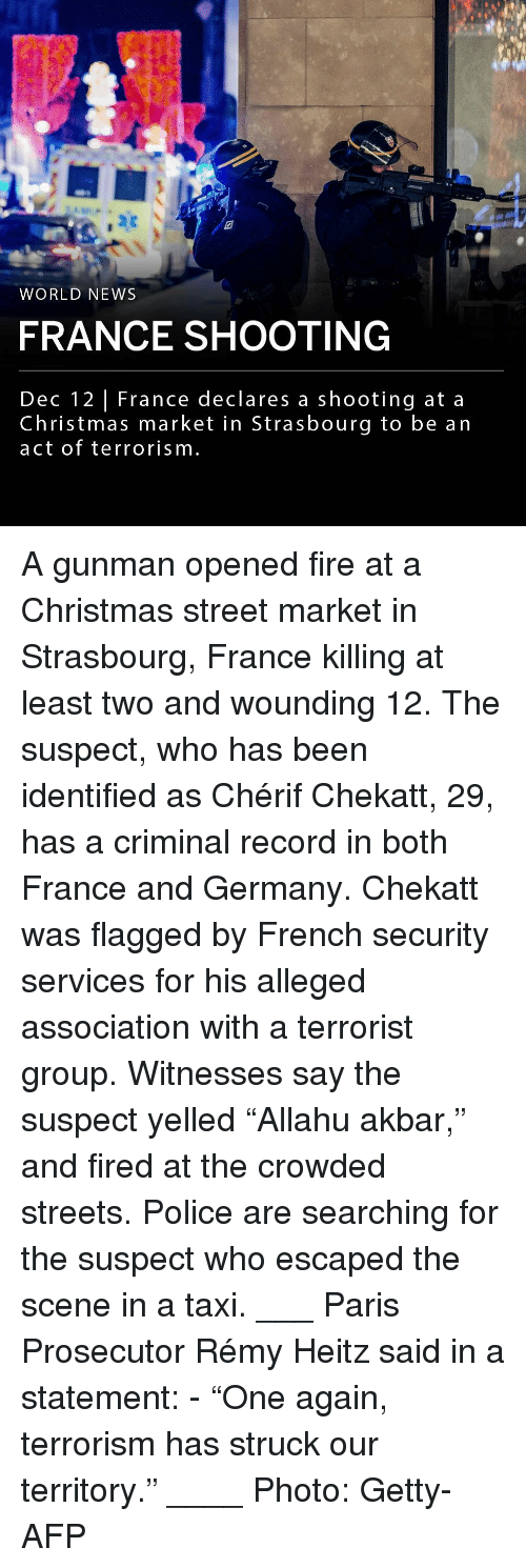 """Christmas, Fire, and Memes: 19  WORLD NEWS  FRANCE SHOOTING  Dec 12 