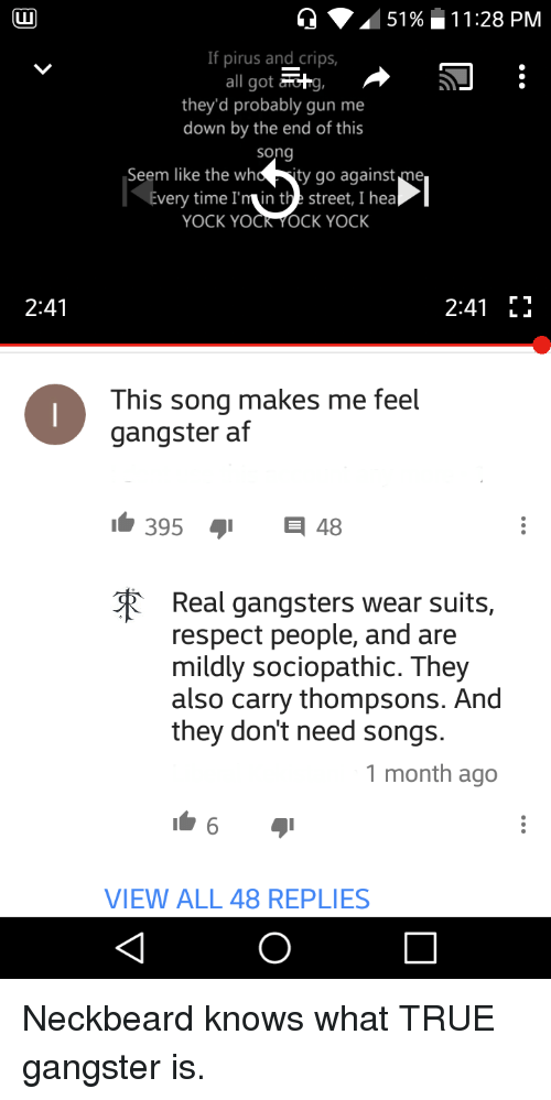 Real Gangsters Wear Suits