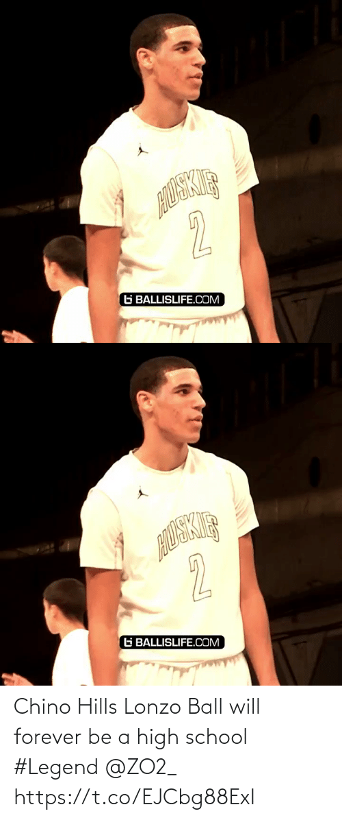 ballislife: 2  G BALLISLIFE.COM   2  G BALLISLIFE.COM Chino Hills Lonzo Ball will forever be a high school #Legend @ZO2_ https://t.co/EJCbg88ExI