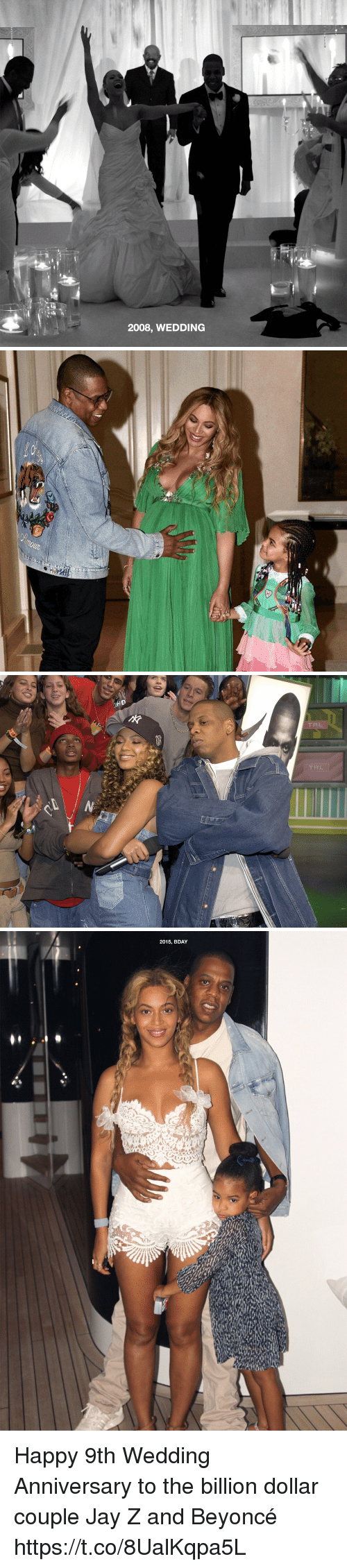 trl: 2008, WEDDING   annou ...   HD  TRL  TRL  N   2015, BDAY Happy 9th Wedding Anniversary to the billion dollar couple Jay Z and Beyoncé https://t.co/8UalKqpa5L