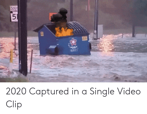 video clip: 2020 Captured in a Single Video Clip