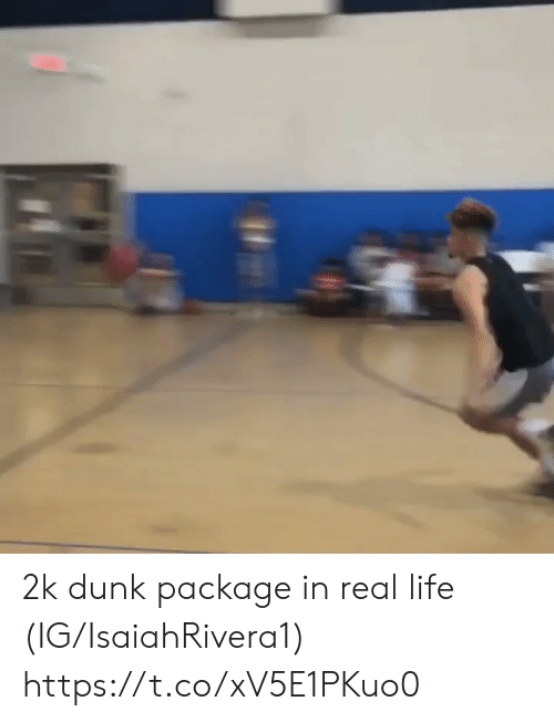 Dunk, Life, and Memes: 2k dunk package in real life (IG/IsaiahRivera1) https://t.co/xV5E1PKuo0