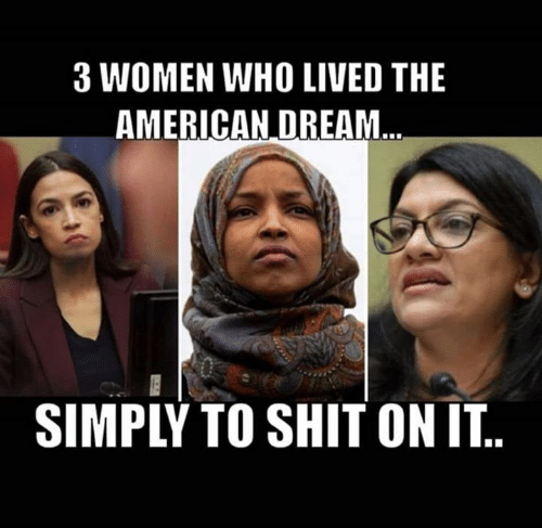 3 women: 3 WOMEN WHO LIVED THE  AMERICAN DREAM  SIMPLY TO SHIT ON IT..