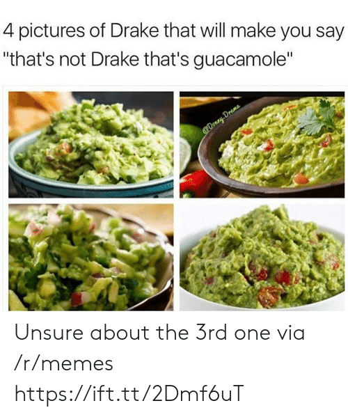 """Guacamole: 4 pictures of Drake that will make you say  """"that's not Drake that's guacamole"""" Unsure about the 3rd one via /r/memes https://ift.tt/2Dmf6uT"""