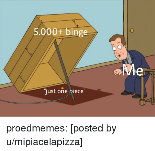 One Piece: 5.000+ binge  just one piece proedmemes:  [posted by u/mipiacelapizza]