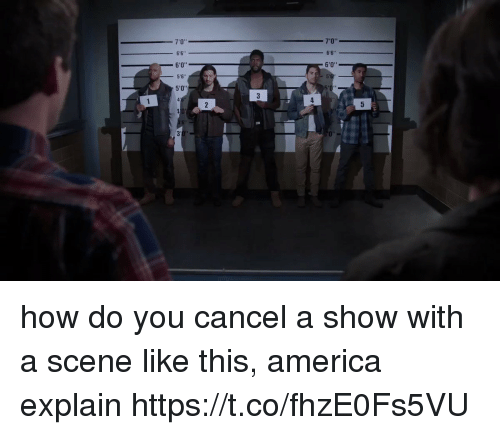 4 3 2: 5  060  766 s 5'  0  4  3  2  06060  41  3  1 how do you cancel a show with a scene like this, america explain https://t.co/fhzE0Fs5VU