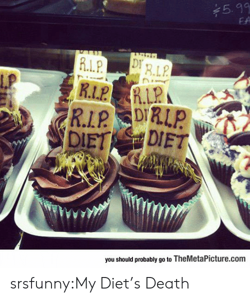 Diets: 5.99  EA  ERLP  R.L.P  Lp  R İ.LPA  you should probably go to TheMetaPicture.com srsfunny:My Diet's Death