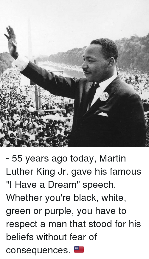 55 Years Ago Today Martin Luther King Jr Gave His Famous I Have A