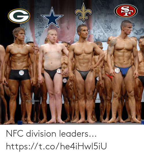 division: 74  70  a Brn  @NFL MEMES NFC division leaders... https://t.co/he4iHwl5iU