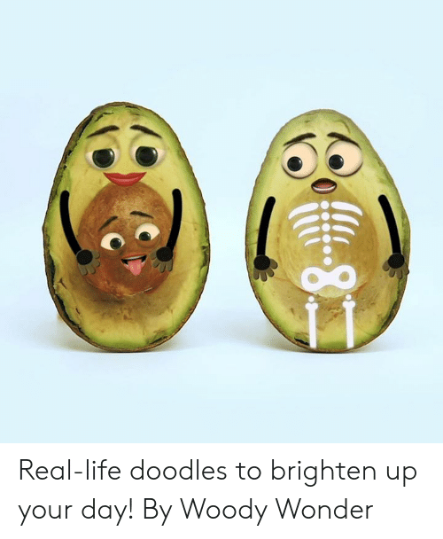 Dank, Life, and Wonder: -8 Real-life doodles to brighten up your day!   By Woody Wonder