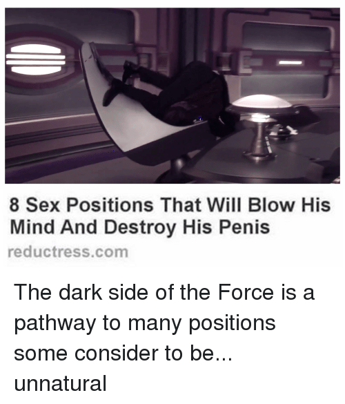 Sex, Penis, and Mind: 8 Sex Positions That Will Blow His  Mind And Destroy His Penis  reductress.com