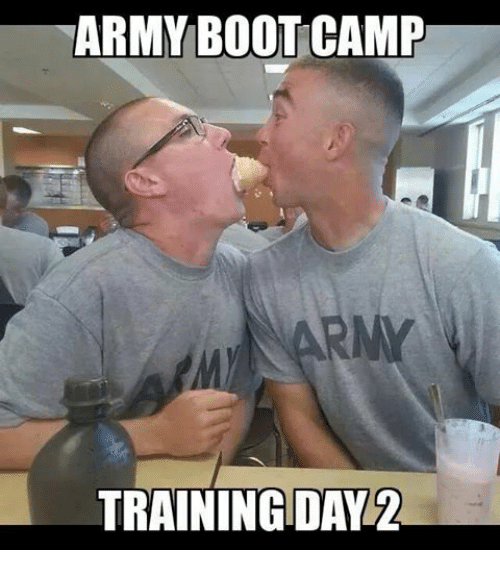 Training Day, Army, and Train: ARMY BOOTCAMP  TRAINING DAY