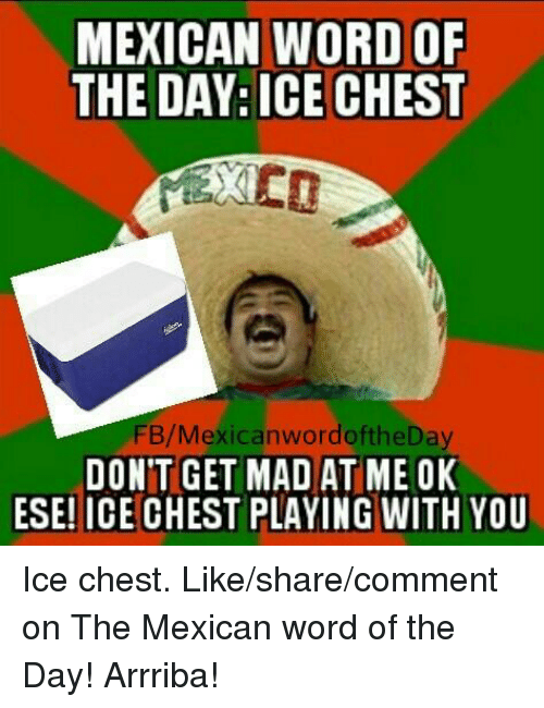 Mexicans Words