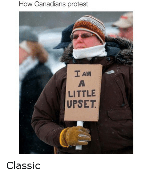 Canadian Protest