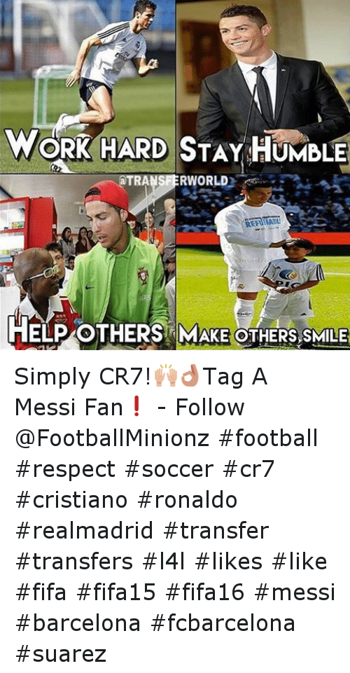 Instagram Simply CR7 Tag A Messi Fan e6582a ✅ 25 best memes about one does not simply meme generator one