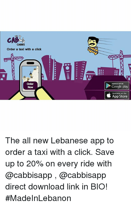 CA CABBIS Order a Taxi With a Click Order ANDROID APP ON