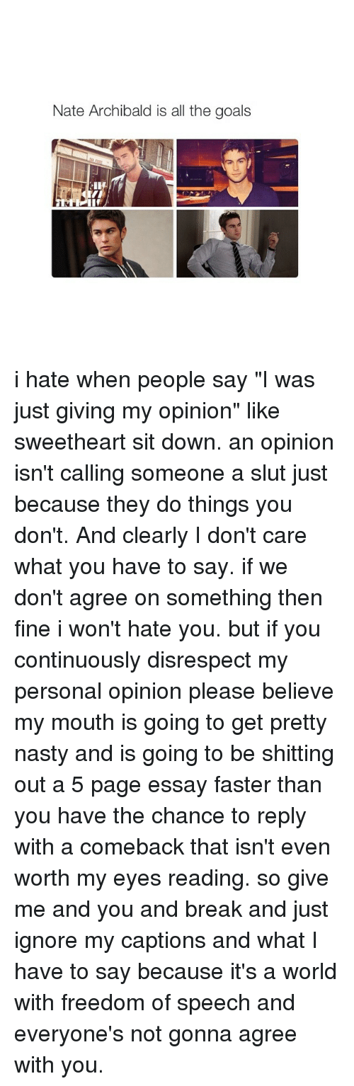 my-personal-opinion