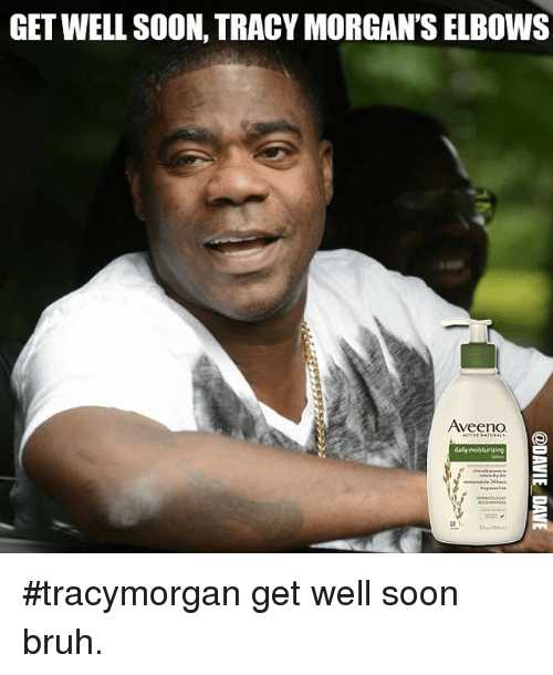 GET WELL SOON TRACY MORGAN'S ELBOWS VeenO Daily Moisturizing