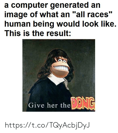 """Andrew Bogut: a computer generated an  image of what an """"all races""""  human being would look like.  This is the result;  110  Give her the DENG https://t.co/TQyAcbjDyJ"""