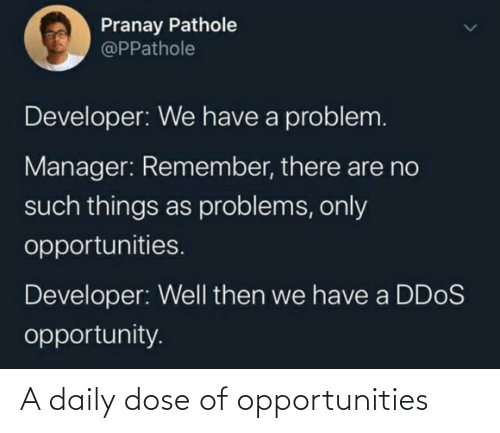 dose: A daily dose of opportunities