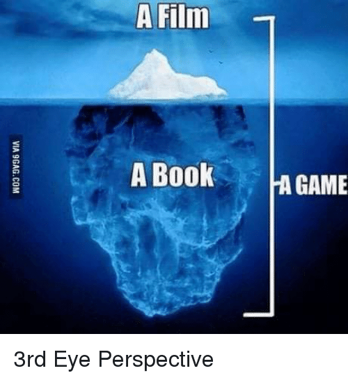 Video Games, Book, and Game: A Film  A Book  GAME 3rd Eye Perspective