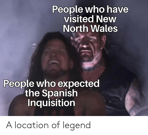 Location: A location of legend